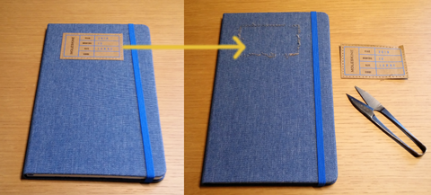 Moleskine-denim