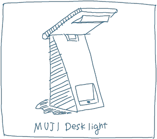 MUJI Desk Light