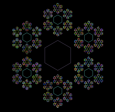 fractal-hexagons